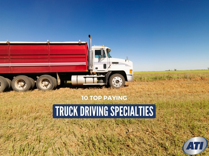 10 Top Paying Truck Driving Specialties for Commercial Truck Drivers
