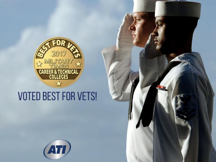 Advanced Technology Institute Named Best for Vets!