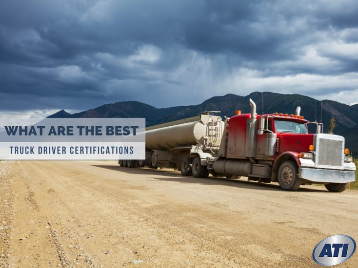 What Are The Best Commercial Truck Driver Certifications to Have?