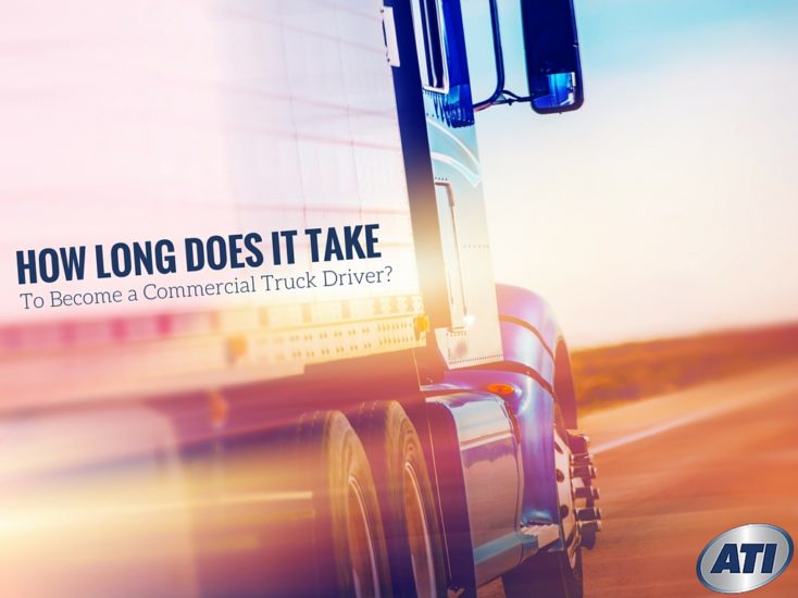 How Long Does it Take to Become a Commercial Truck Driver?