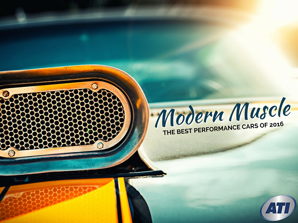 Modern Muscle Cars: What are the Best Performance Cars of 2016 ...