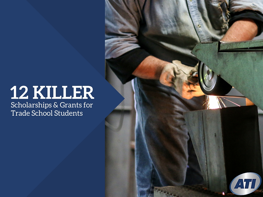 killer scholarships grants for trade school students