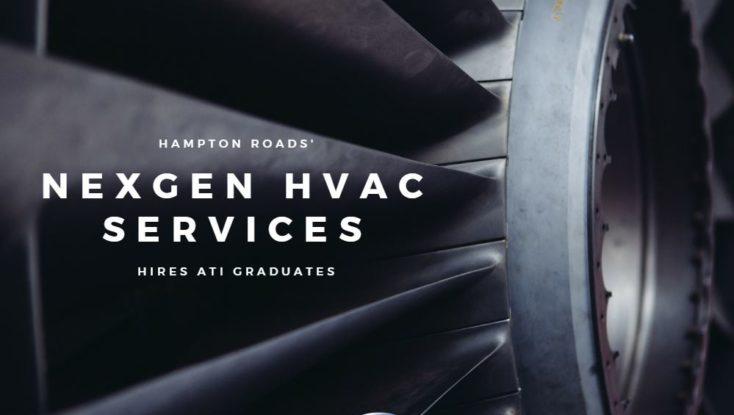 Hampton Roads' Nexgen HVAC Services Hires ATI Graduates